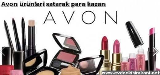 Avon ürünleri satarak para kazan
