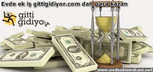 Evde ek iş gittigidiyor.com dan para kazanmak
