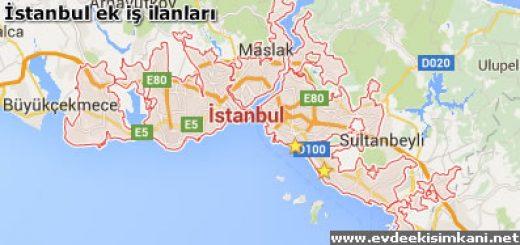 Evde Ek İş ilanları İstanbul